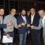 Thiago Goulart, Pablo Torres e Guilherme Paulus, da GJP, com Miguel Palhota, do Iguassu Falls Golf Club, e Claudio Borges, da Companhia das Artes