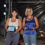 Vanessa Carvalho, da Azul Viagens Campinas Shopping, e Carol Matos, da Azul Viagens de Ribeirão Preto-SP, levaram o segundo e o primeiro lugar, respectivamente, na categoria lojas próprias