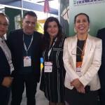 Victor Duarte, do Cuenca del Plata, Gilmar Piolla, de Foz, Patrícia Duran, de Cuenca, Gisele Lima, da Promo, e Vilson dos Santos, do Rafain