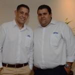 Victor Gigueira e Tiago Fantin, da Abreu