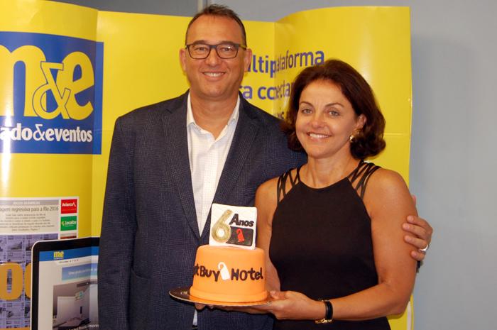 Victor e Nice van Oorchot, CEO e diretora de Operações da Bust Buy Hotel