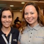 Vivian Amaral, da CVC Corp, e Gizella Batistela, do Grupo Trend