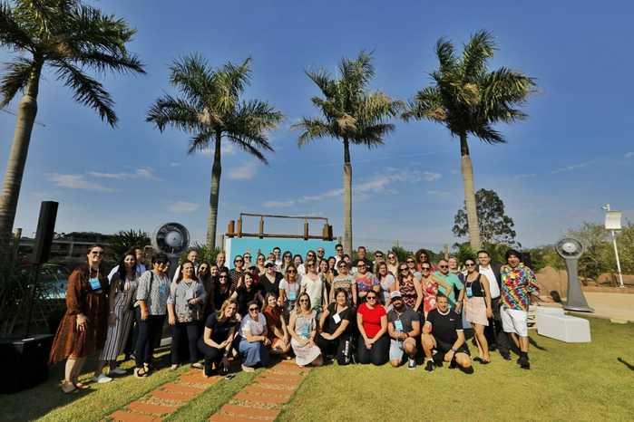 Um grupo de 40 pessoas participa da ação que apresenta Foz do Iguaçu como um destino Mice