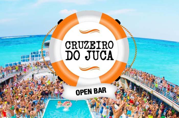Juca na Balada é uma operadora de viagens que oferece experiências open bar