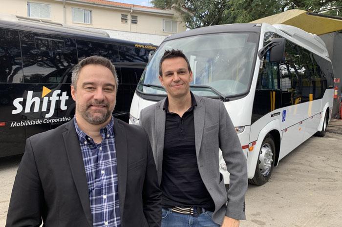 Renato Kiste e Alexandre Pinto, sócios da Shift Mobilidade Corporativa, uma das empresas da aliança