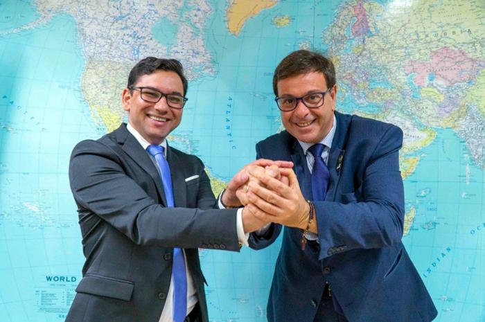 Gilson Machado, presidente da Embratur recebeu o secretário do Trabalho, Emprego e Qualificação de Pernambuco, Alberes Lopes, que apresentou demandas locais de fortalecimento de diferentes atrativos e destinos turísticos da região