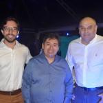 Milton Vasconcelos, da ABIH-AL, Alejandro Velasquez, da Luck, e Paulo Kugelmas, da Setur-AL