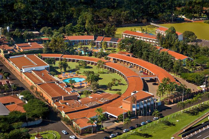 Vista aérea do empreendimento em Ribeirão Preto