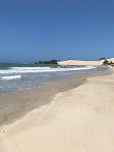 Praia de Jenipabu em 11 de outubro