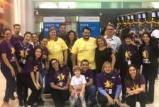 American realiza sonho de crianças brasileiras em nova ação do 'mAAgic Flight'