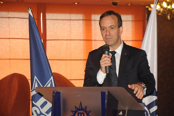 Adrian Ursilli, diretor geral da MSC no Brasil