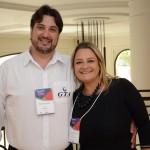 Agenor Bertoni, da GTA, e Tatiana Rocha, da Rochatur