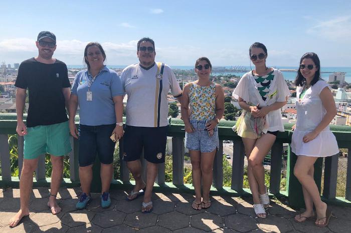 Agentes de viagens conheceram os principais atrativos de Maceió (AL)