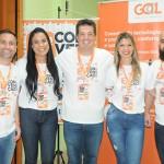 Alexandre Lança, Cíntia Botelho, Carlos Gevaerd, Valeria Pereira e João Lança, da Affinity