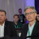 Alexandre Sampaio, da FBHA, e Marcos Ferraz, da Clia Brasil