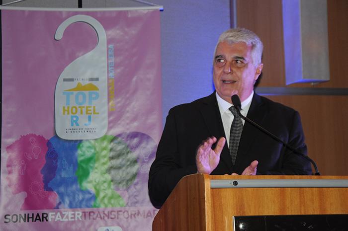 Alfredo Lopes, presidente da ABIH-RJ