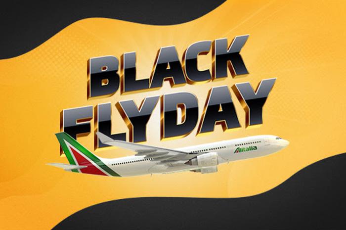 Alitalia oferece passagens com 20% de desconto durante black friday