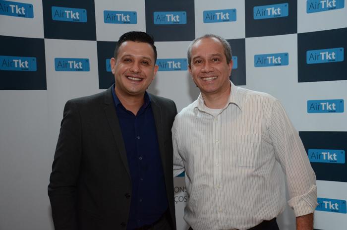 Allan Gomes e Rogério Klinger, da Sakuratur