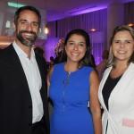 Aloysio Duarte, Karina Goes e Livia Fernandez, do LSH