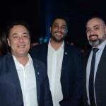 Aluizer Malab, do MTur, Gilberto Castro, da Belotur, e Anderson Masetto, do M&E