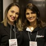 Amanda Marciniak, do Marketing, e Daniela Araújo, da Schultz PR