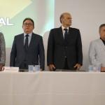 Ana Ligia Costa Feliciano e Manoel Linhares, da ABIH