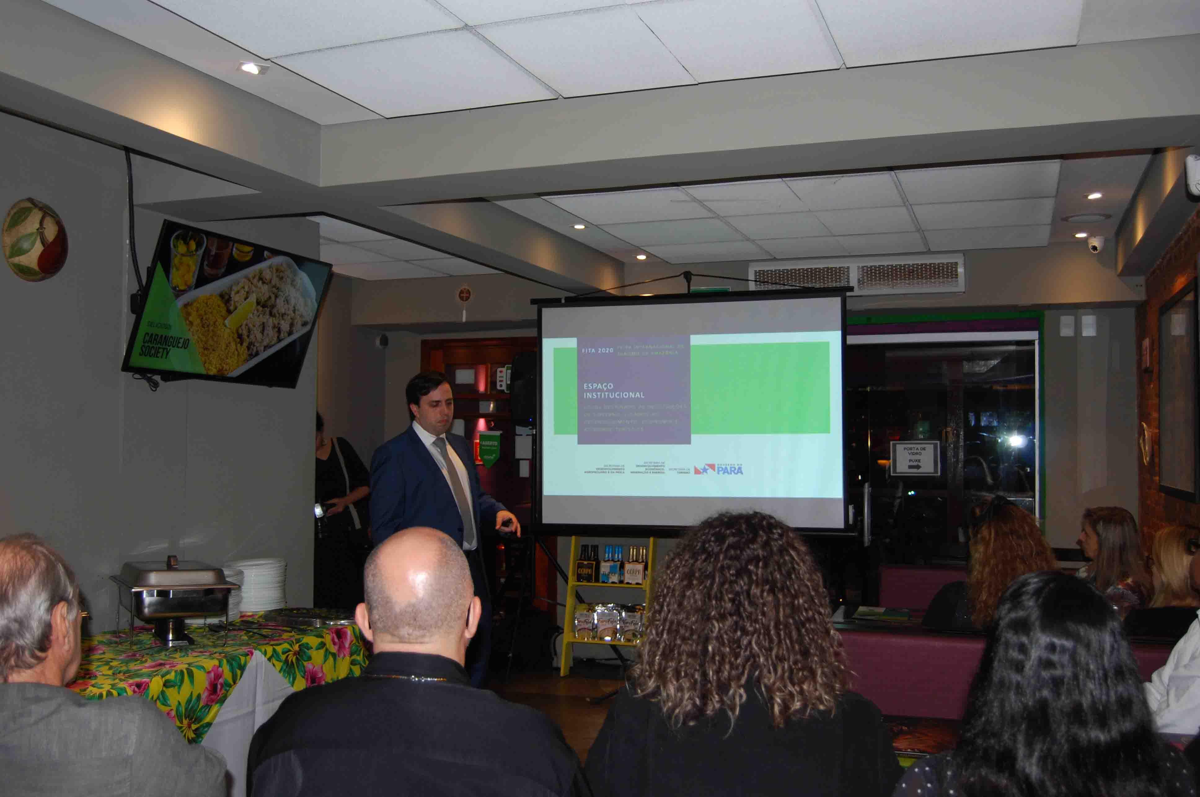 André Dias faz apresentação sobre a FITA 2020