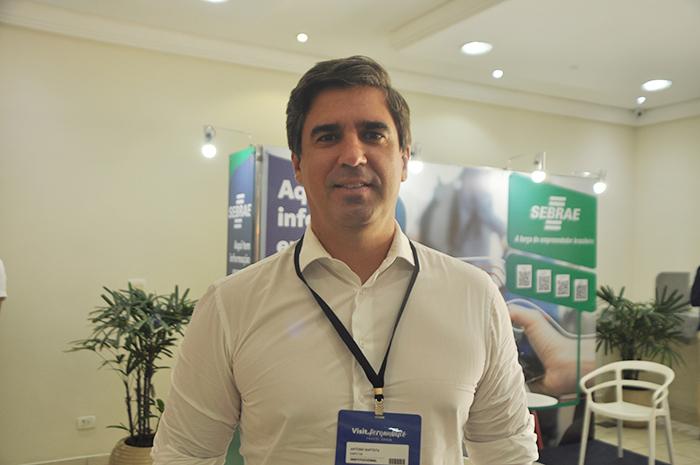 Antônio Baptista, secretário-executivo da Secretaria de Turismo de Pernambuco
