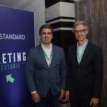 Antonio Neves Baptista, da Empetur, e Marco Ferraz, da Clia Brasil