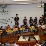 Apresentação musical durante o SEEDS