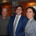 Arnaldo Franken, da ONG Garupa, André Dias, Secretário do Turismo do Pará e Gisele Lima, da Promo