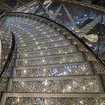 As famosas escadas de Swarovski