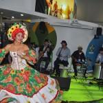 Atrações musicais trairam visitantes ao estande do Brasil neste primeiro dia de WTM Londres 2019