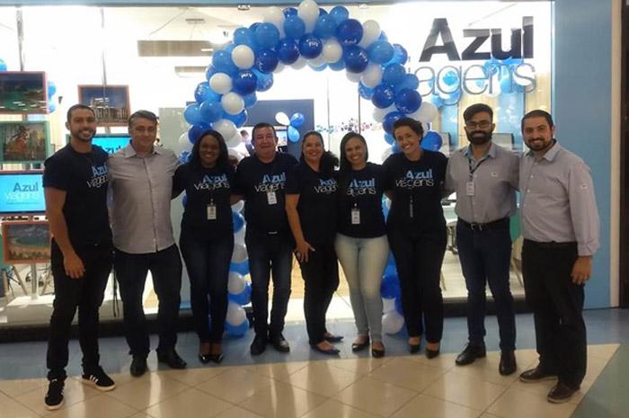 Azul Viagens inaugura 50ª loja no Brasil , localizada em Guarulhos