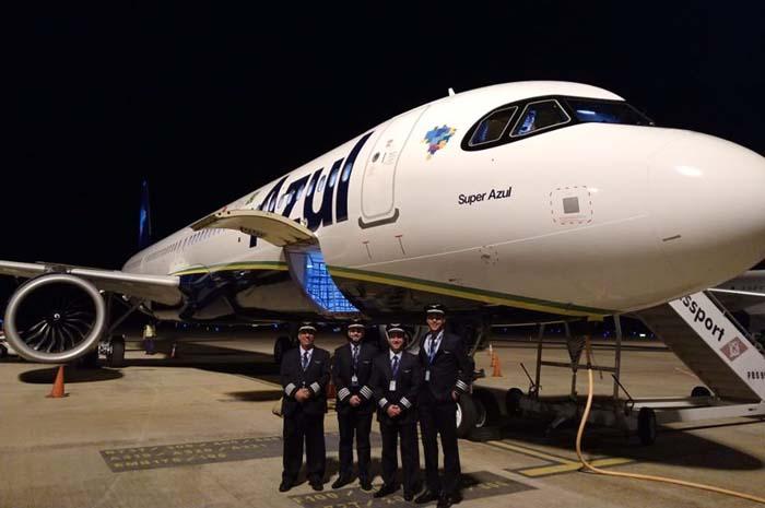 Azul recebe primeiro A321neo