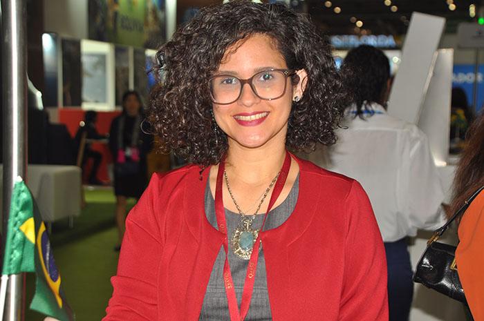 Bethise Cabral, da Secretaria de Turismo do Rio Grande do Norte