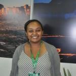 Beza Melis, segunda secretária da Embaixada da República Democrática Federal da Etiópia