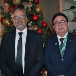 Bob Santos, do MTur, e Manoel Linhares, presidente da ABIH Nacional
