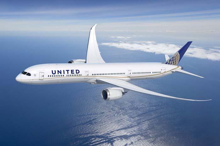 Boeing 787-10 Dreamliner da United Airlines