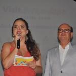 Brenda Silveira, do Porto de Galinhas CVB, e Ulisses Ávila, da Associação de Hotéis de Porto de Galinhas