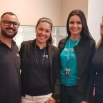 Bruno Ribas e Sabrina Moretti, da R11 Travel, com Camila Tambellini, da Ancoradouro, e Giulianne Orcati, da R11 Travel