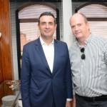 Carlos Antunes, da Copa Airlines, e Ralf Aasmman, da Air Tkt
