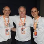 Carlos Henrique, Paulo Kurpan e Wilson Ramos