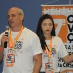 Carlos Henrique e Luanne Machado