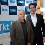 Carlos Prado, da Tour House e Abracorp, com Juarez Cintra Neto, presidente da Air Tkt