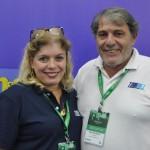 Carmem Pontes e Walter Emílio, da Tourmed Viagens