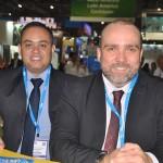 Catulé Junior e Hugo Veiga, da secretaria de Turismo do Maranhão