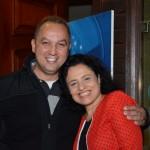 Celso Andrade, da April, e Monica Samia, da Braztoa