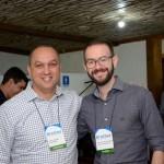 Celso Andrade, da April, e Rafael Augusto, da Schultz Operadora