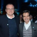Charles Strzalkowski e Paulo Henrique, da Localiza